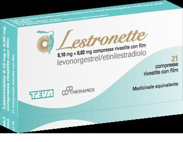 Benessere Femminile pillola-anticoncezionale-Lestronette Pillola anticoncezionale LESTRONETTE