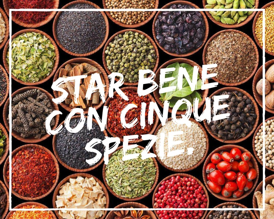 Benessere Femminile Relax.Enjoy-a-cup.Smile_. Star bene con Cinque Spezie