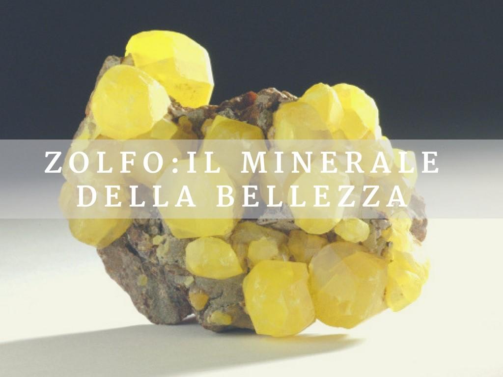 Benessere Femminile Lemon-Tree Zolfo: il minerale della bellezza