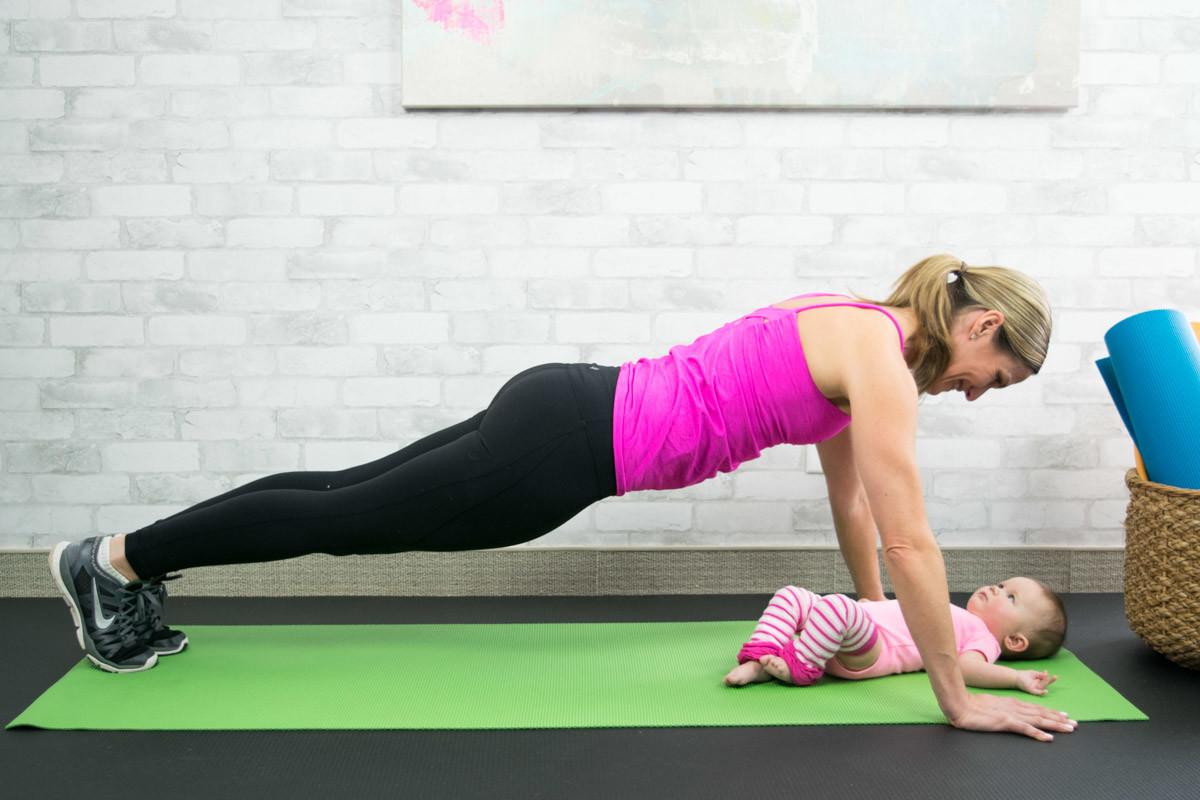 Benessere Femminile Push-Up Tornare in forma dopo il parto si può, ecco i nostri esercizi